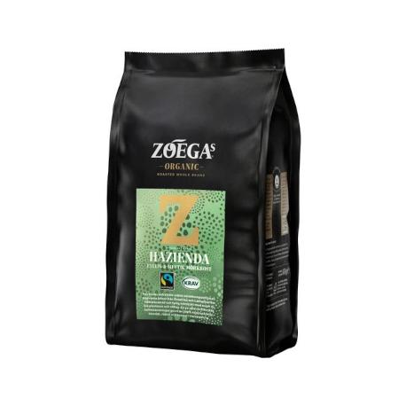 Zoegas Hazienda Hele Bønner Økologisk Fairtrade